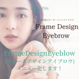 今話題の!!「Frame Design Eyebrow ( フレームデザインアイブロウ )」開始します!